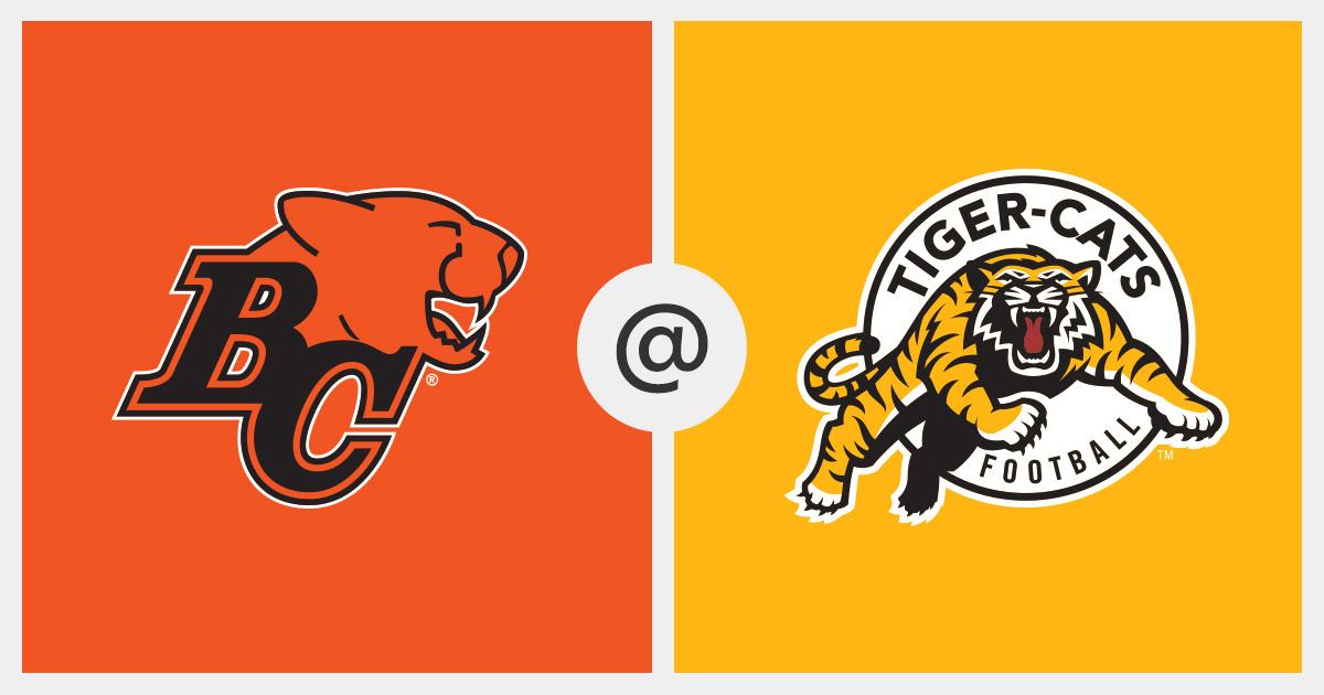 2019-08-10 Game Tracker - BC Lions vs  Hamilton Tiger-Cats (2595
