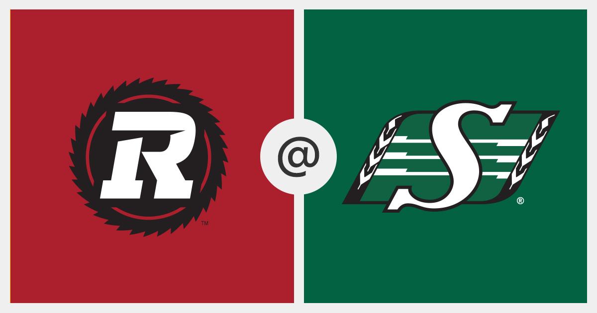 2019-08-24 Game Tracker - Ottawa Redblacks vs. Saskatchewan Roughriders (2601) - CFL.ca